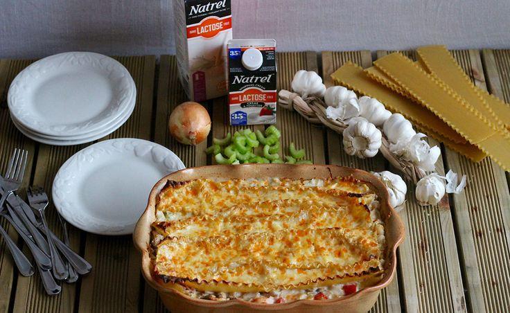 Notre recette de Lasagne sans lactose aux fruits de mer | Natrel | Natrel
