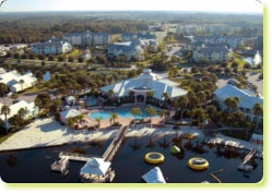 Summer Bay Resorts near Disney; several pools (heated during cold weather), several playgrounds, some pools open 24 hours, hot tubs too.