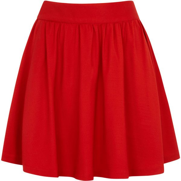 alice and olivia Tanner High Waist Flared Skirt found on Polyvore