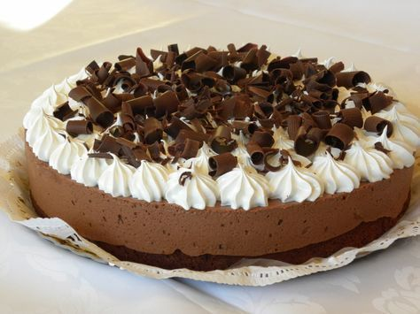 Torta Brownie con mousse de chocolate 002