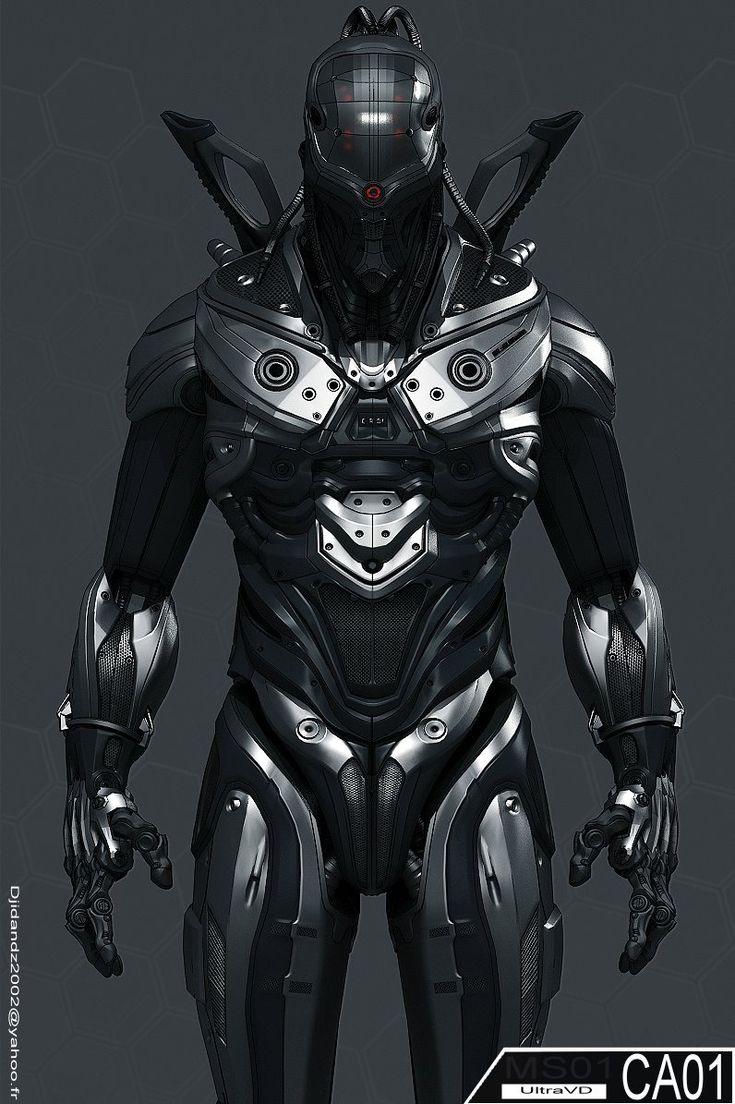 Cyber warrior.