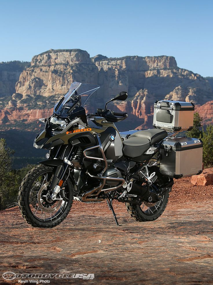 2014 BMW R1200GS Adventure First Ride Photos