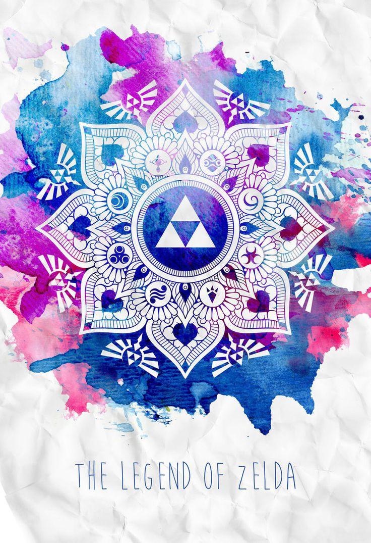 The Legend of a Zelda Mandala by ever-so-excited.deviantart.com on @DeviantArt
