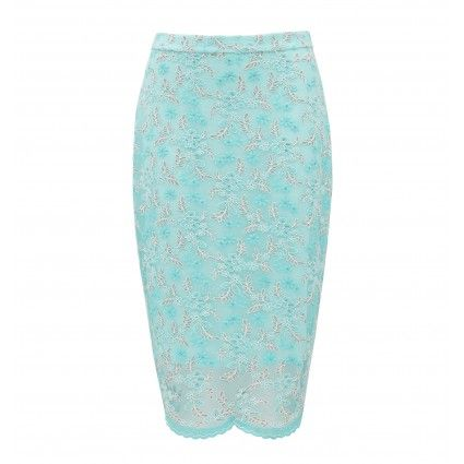 Lace co-ord pencil skirt