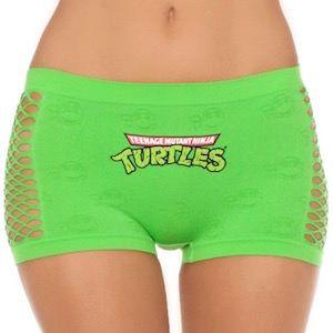 Teenage Mutant Ninja Turtles Green Women's Panties