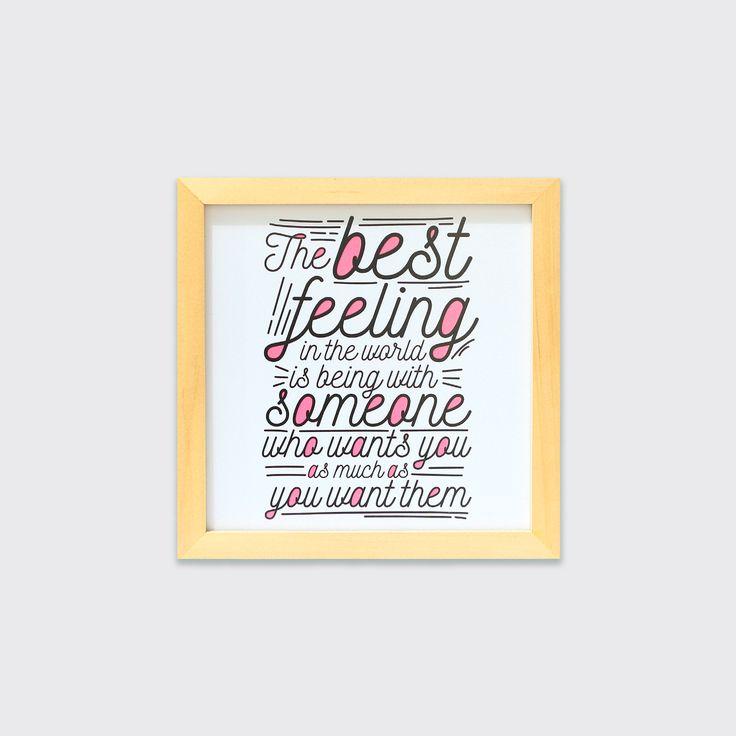 The Best Feeling (MAR16-08) - Siapa sih yang ngga ingin dicintai dan diinginkan oleh orang tericnta? Perasaan-perasaan itu merupakan perasaan terbaik yang bisa kita rasakan.