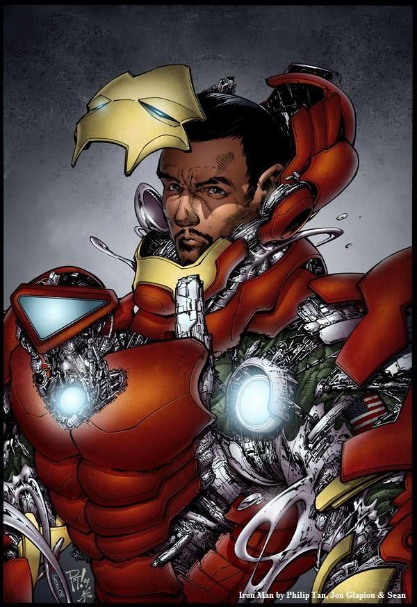 Iron Man by Philip Tan, Jon Glapion and Sean *