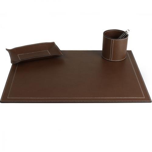 Schreibtischauflage, braun Jetzt bestellen unter: http://www.woonio.de/produkt/schreibtischauflage-braun/