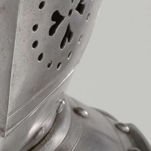 Ruiterhelm (mantelhelm) Staatse leger, anoniem, 1600 - 1649 - Harnassen…