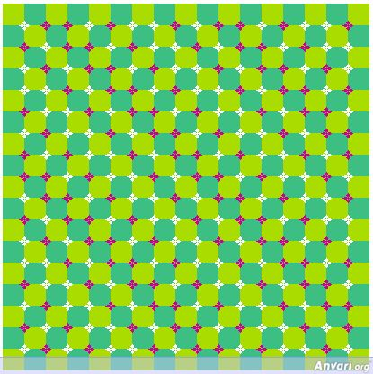 Image detail for -Static But Appears Moving - Optical Illusions