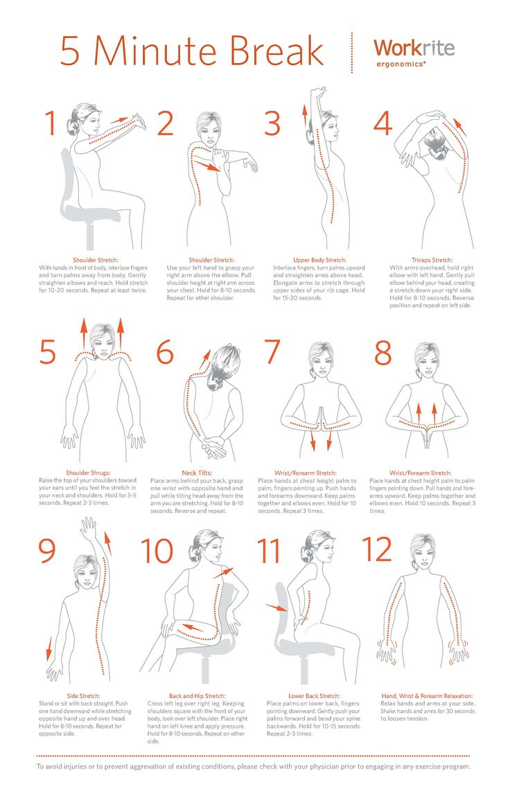 The 5 Minutes Exercises That You Can 39 T Afford Not To Do Ergonomic Exercises To Keep You Healthy