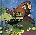 Songs from the Garden of Eden by Nathalie Soussana:  An extraordinary repertoire featuring 28 Jewish nursery rhymes, lullabies, and songs originating from the Ashkenazic, Sephardic, and Yemenite communities are collected by Nathalie Sousanna and admirably illustrated by Béatrice Alemagna. The lyrics in Hebrew, Judeo-Spanish, Yiddish, and Arabic are first reproduced in the original...