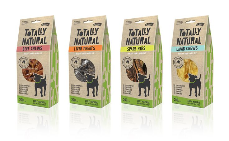 Pet Team Totally Natural Packaging | Foundry Creative