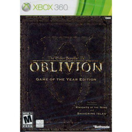 The Elder Scrolls IV: Oblivion Game-of-the-Year Edition (Xbox 360) Bethesda Softworks 93155118157