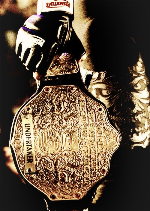 """I always like the 'big gold' title more then the 'spinner' belt. My two favorite superstars to hold that title were the Undertaker and Batista. I felt like they wore it perfectly"" - Y.F.N.W.W.E.F."