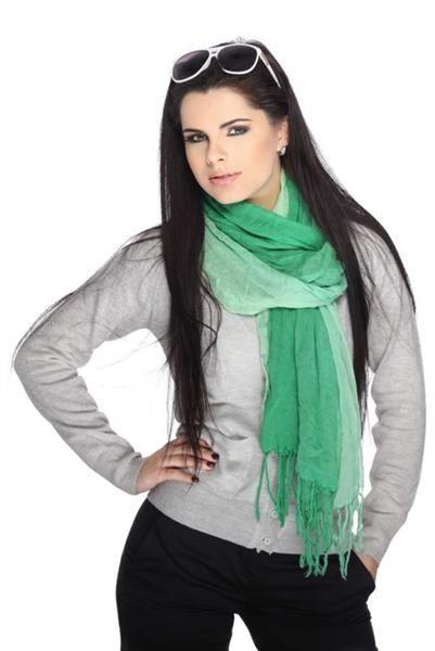 Как завязывать шарф под пальто с капюшоном