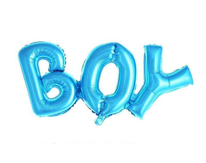 Boy Balloon, helium balloon boy, blue boy Balloon, baby shower Balloon, gender reveal