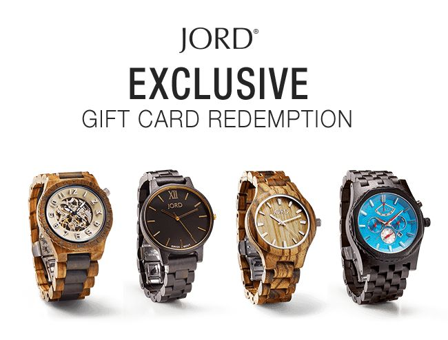 Snag a free $25 gift card! Fill out the simple form below to receive your JORD gift card code! Once your entry is submitted, a JORD gift code will be emailed to you. This discount will work on a first-come, first-serve basis for everyone that receives it.Be sure to use it before the use limit runs out!