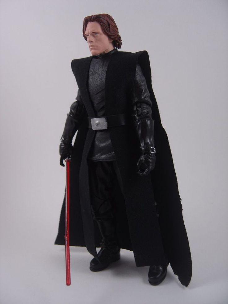 Custom Star Wars 6in Jacen Solo/Darth Caedus figure jedi sith mandalorian EU
