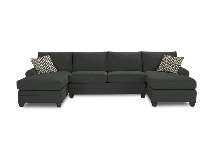 The 25 best Double chaise sectional ideas on Pinterest