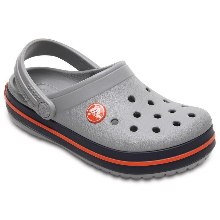 Crocs Crocband Kids' Clogs, Kids Unisex, Size: 10 T, White Oth