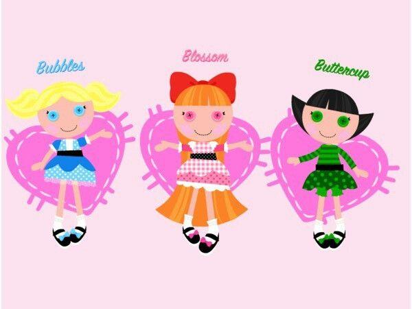 powerpuff girls lalaloopsy pinterest powerpuff girls