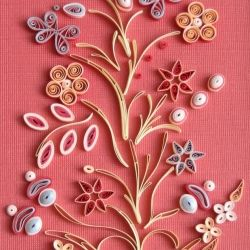 You never know where you'll find inspiration for quilling designs...