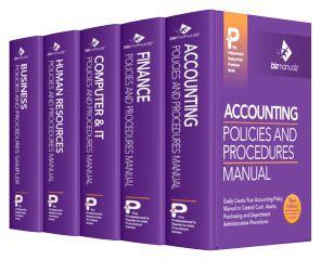 CFO Policies Procedures Manuals