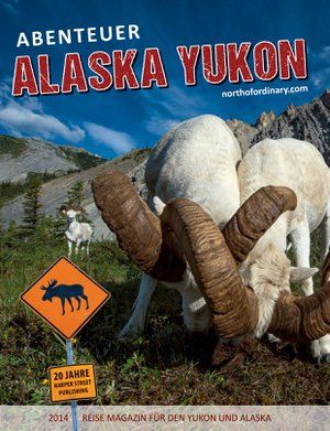 Abenteuer Alaska ind Yukon is an publication which is released every May, targeting German speaking travellers to the north and to prospects in Germany.