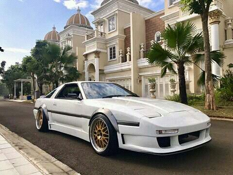 """""""OnSale"""" Toyota Supra MK3 1JZ . . More Info Contact Me..!! Cp. +62 813 2143 7500 Or Tap Call on My Profile..!! . . . #musclecarindonesia #rvanlemans #rultimatemodena #erbusinessmedia #onsale #toyota #supra #mk3 #1jz #nissan #mitsubishi #mazda #subaru #jdm #indonesia"""