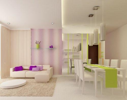 10 schöne wohnzimmer ideen – trendy und gemütlich | sandy's, Wohnzimmer