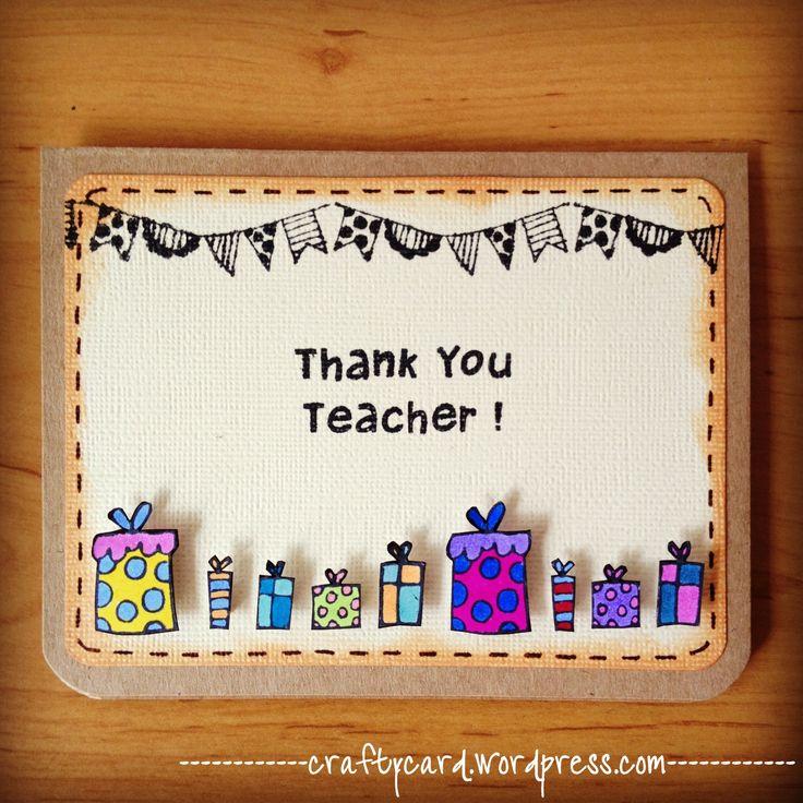 Teacher Thank You Cards | M202 – Thank You Teacher