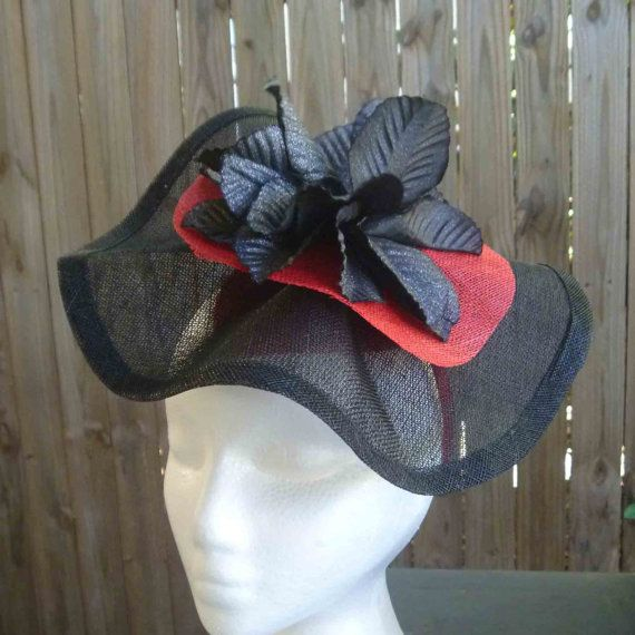 Black and red Sinamany Fasciantor by WhiteBea on Etsy, $65.00
