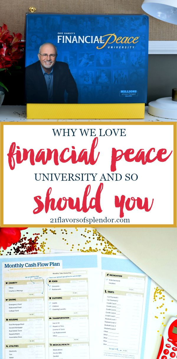Dave Ramsey's Financial Peace University is about more than getting rid of debt. There are three life-changing reasons why we love it and so should you. Click... #financialfreedom #finances #daveramsey #money #budgeting