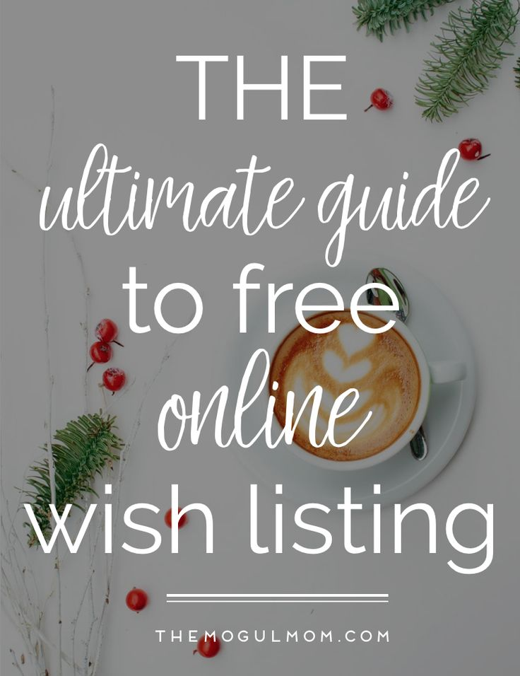 A roundup of the best wishlist websites to ensure the gifts you give are cherished, NOT destined to become another return or regift.