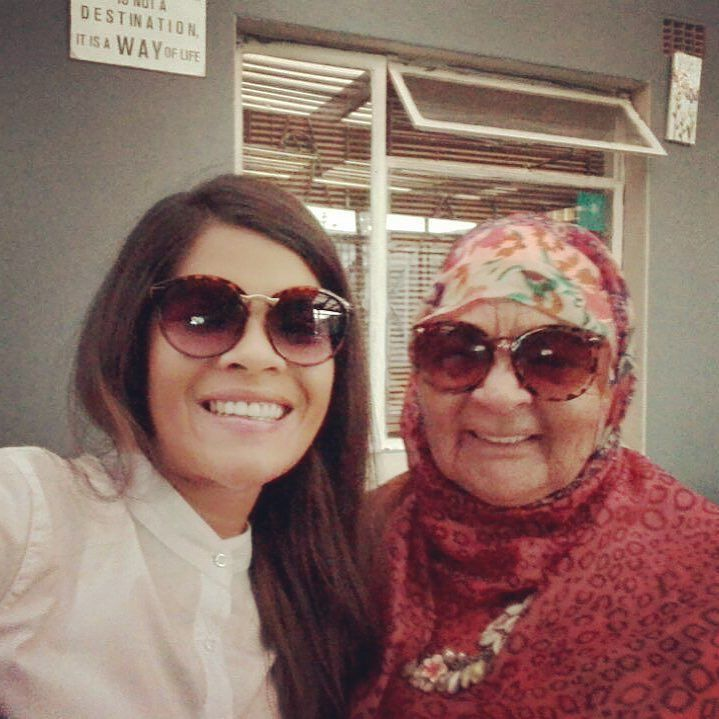 Me and my beloved #granny we be matching with our shades. #bestgranma ever! #family #capetown. Everyone has the #humanright to be #loved