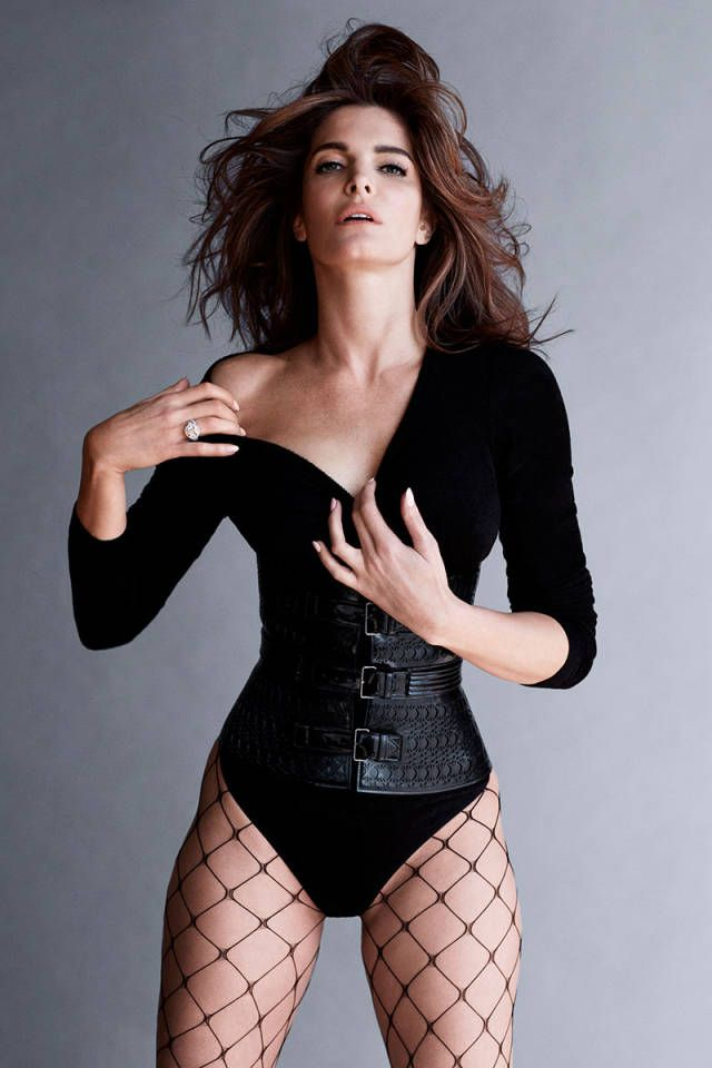 Stephanie Seymour in Alaia for Harper´s Bazaar by Sebastian Faena and Carine Roitfeld
