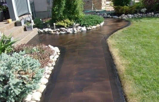 22 Best Staining Walkways Around Pools And Houses Images
