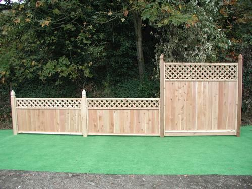 Outdoor Lattice Fence Panels Menards Fences Fence