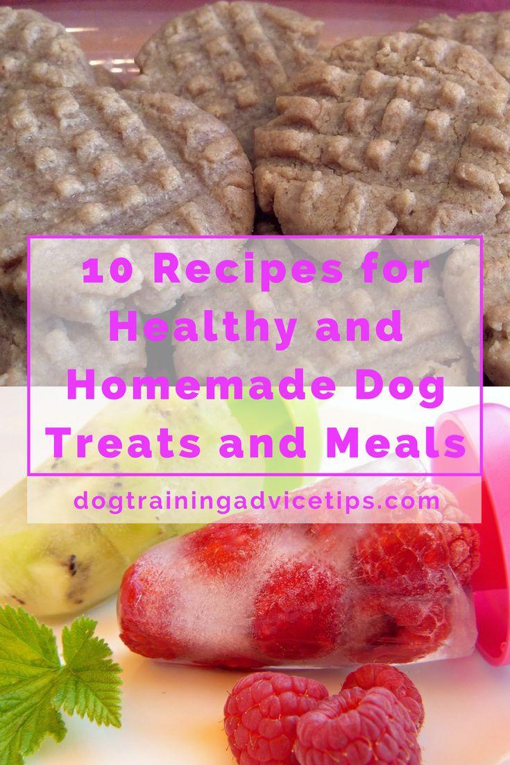Most Nutritious Homemade Dog Food Recipes
