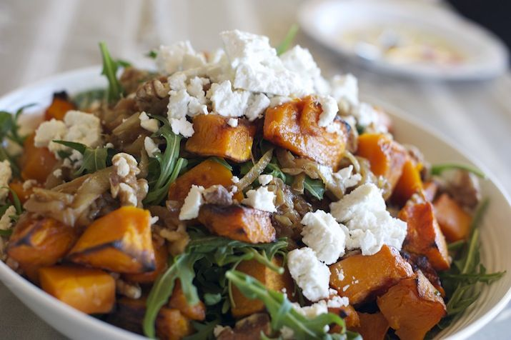 This salad got its name from, well, from ACTUALLY BEING, the BEST Pumpkin Salad EVER! I mean it really is that simple. Make it. Eat it. CRY from joy, Repeat. INGREDIENTS 2 cups walnuts 1 teaspoon b...
