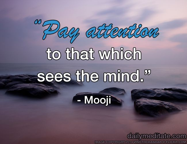 45 Best Mooji Quotes Images On Pinterest