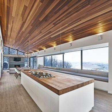 Refuge de luxe en montagne - Cuisine - Inspirations - Décoration et rénovation - Pratico Pratiques