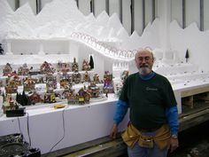 Christmas Village Display Tips | Make Magic in Your Village This Year. Learn to Landscape Like the Pros ...