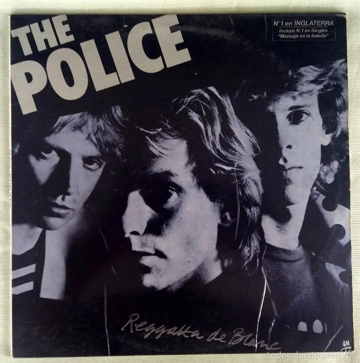 THE POLICE. LP. REGATTA DE BLANC. AM 1979 (Música - Discos - LP Vinilo - Pop - Rock - New Wave Extranjero de los 80)