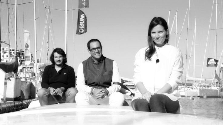 Spiros Daikos, Stratis Andreadis, Cryssa Calikiopoulou @SaltyBag #upcycling #bags #sailbags #sails #sailing #roadtorio - http://www.lovegreece.com/people/spiros-daikos-stratis-andreadis-cryssa-calikiopoulou