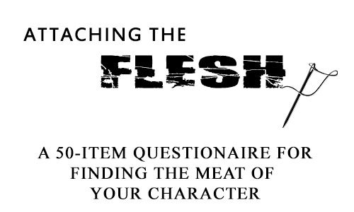 A Character Questionnaire - Pretty good, but the physical description part was a little annoying. Sometimes your character's eyes ARE just brown. If you don't know who you're writing, this is a good start.