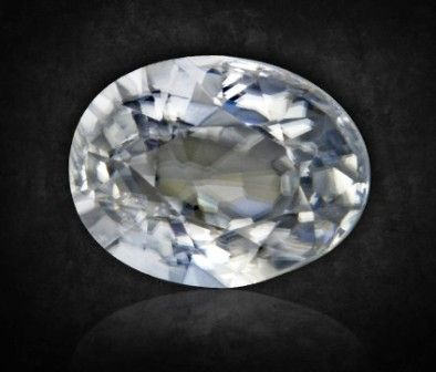 White Zircon 3.45 Carat | AstroKapoor.com | White Zircon gemstone price in Delhi | White Zircon gemstone price in India | White Zircon gemstone