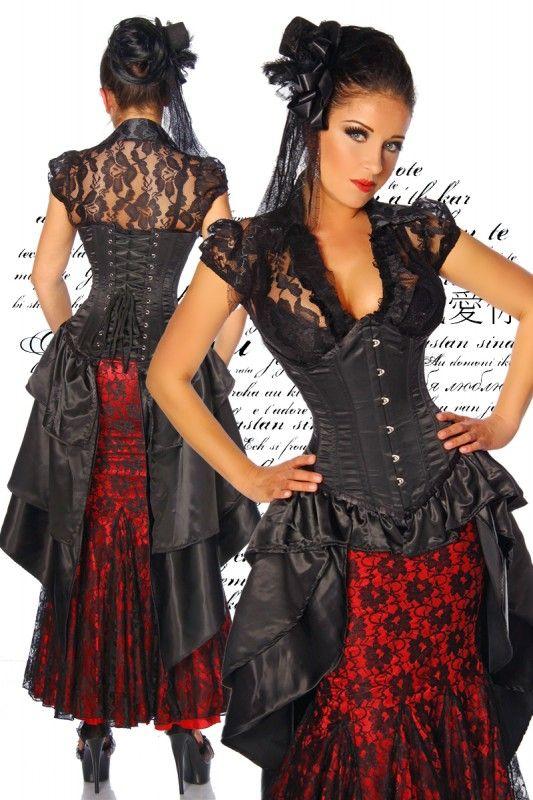 Lack kleid rot lang