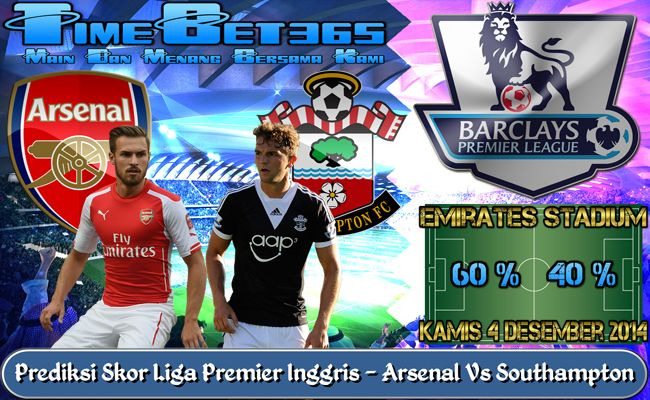 Prediksi-Skor-Liga-Premier-Inggris-Arsenal-Vs-Southampton